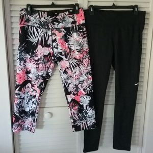 2 pair Active Wear Leggins NWOT
